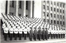 Blocul de defilare pentru parada de la 23 august 1967!