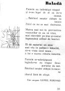 Balada, Gavril Popovici