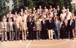 Intalnirea absolventilor promotiei 1972 a Scolii militare de rd. lc. -Brasov  1992