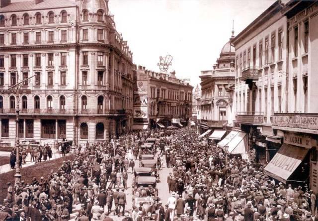 Calea Victoriei, Bucuresti, 1900