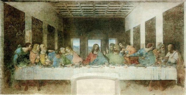 Cina cea de Taină- Leonardo da Vinci, 1495-1498.