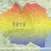 ROMANIA MARE ( 1919 ).