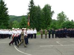 defilarea garzii drapelului