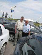 Ilie Matra si Victor Duzinschi , la Tulcea