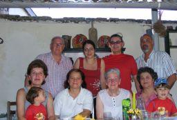 Euge, Raluca, Horatiu, Doru, Liliana si Bogdan, Daniela, Sofia, Valentina cu Andrei.