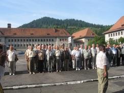 24. Comandorul Valentin Botezatu gata sa dea raportul...