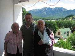 a6. O priveliste minunata din balconul pensiunii Casa ardeleana