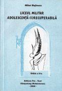 Coperta cărţii: LM adolescenţă (i)recuperabilă