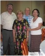 Familia Matra impreuna cu YO2DM, Delia si YO2IS, Szigy din Timisoara