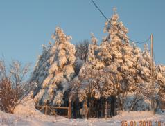 Accesul interzis. Pericol de iarna
