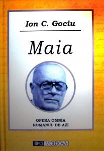 Coperta romanului MAIA