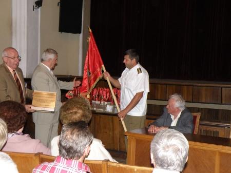 Inmanarea drapelului promotiei 1969